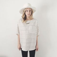 The Penny Top - we think its the perfect blend of being light...
