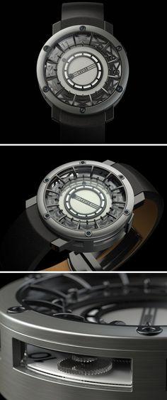 A clocktower on your wrist.