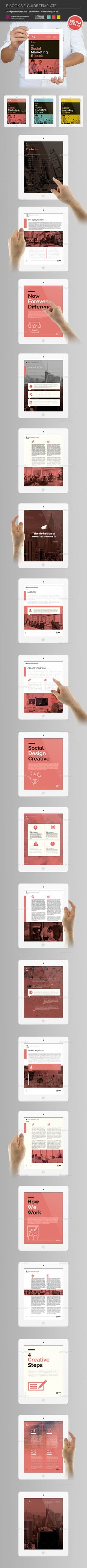 E-Book & E-Guide Template InDesign INDD. Download here: http://graphicriver.net/item/ebook-eguide/15930180?ref=ksioks
