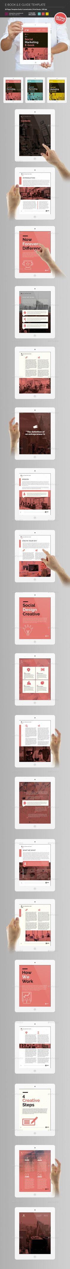 E-Book & E-Guide Template InDesign INDD. Download here: http://graphicriver.net/item/ebook-eguide/15930180?ref=ksioks
