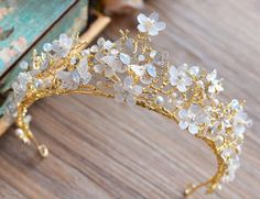 Find More Hair Jewelry Information about Fashion Gold Great Baroque Butterfly Ti. - Find More Hair Jewelry Information about Fashion Gold Great Baroque Butterfly Tiara Crown European - Prom Jewelry, Cute Jewelry, Hair Jewelry, Jewelry Gifts, Jewelery, Flower Jewelry, Bridal Jewelry, Silver Jewelry, Hair Accessories For Women