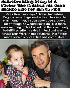 Heartbreaking Story Of A Father Who Finishes His Son's Bucket List For Him ( 15 Pics)