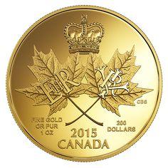 Pure Gold Coin - A Historic Reign - Mintage: 300 Bullion Coins, Silver Bullion, Elizabeth Ii, Canadian Coins, Gold Money, Mint Coins, Gold And Silver Coins, Reign, Silver Eagles