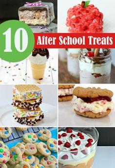 After School Treats | #backtoschool #afterschool #treats #recipes