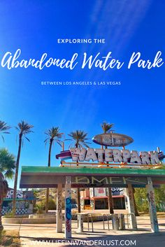 Do you love abandoned places? Exploring the Abandoned Water Park Between Los Angeles and Las Vegas, the Lake Dolores Water Park in Newbury Springs! Usa Travel Guide, Travel Usa, Travel Guides, Travel Tips, Canada Travel, Globe Travel, Travel Goals, Cool Places To Visit, Places To Travel