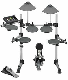 Yamaha DTX500K Electronic Drum Kit by Yamaha. $629.99. New for 2011, the Yamaha DTX500K Electronic Drum Set is your best value in a full featured quality electronic drum set. The DTX500K is the most affordable of the drum sets that feature the excellent new DTX500 Drum Module from Yamaha with 427 of the best drum, percussion and effects sounds you have ever heard. As an extra bonus, it is the only drum set in the series that includes a Yamaha Bass Drum Pedal. ...