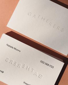 "The Gatherers on Instagram: ""Beyond excited to share a special project we have been working on here at The Gatherers. After going into our fourth year of business I was…"" Business Stationary, Stationary Design, Business Card Mock Up, Business Card Design, Collateral Design, Brand Identity Design, Branding Design, Logo Design, Menu Design"