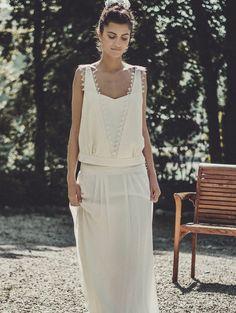 tendance robes de mariee 2015 LAURE DE SAGAZAN                                                                                                                                                                                 Plus