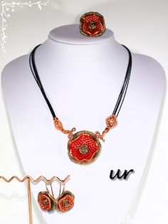 ur Polymer Clay, Handmade, Jewelry, Fashion, Moda, Hand Made, Jewlery, Jewerly, Fashion Styles