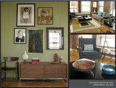 Bachelor pad livingroom-GREENWICH VILLAGE Global Home, Greenwich Village, Design Projects, Cabinet, Living Room, Interior Design, Storage, Furniture, Home Decor