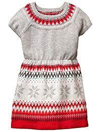 a15dd86ed3 Sale Heather Grey Fair Isle Sweater Dress by Gymboree