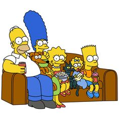 The Simpsons family pictures — Simpsons Crazy ❤ liked on Polyvore featuring simpsons