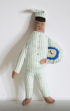 Marionette, Textiles, Couture, Soft Sculpture, Fabric Dolls, New Friends, Puppets, Fabric Crafts, Fiber Art