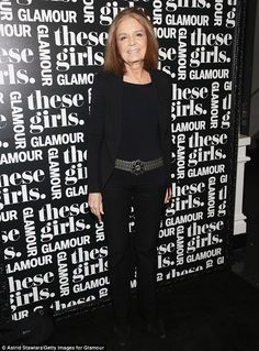 Gloria Steinem in New York