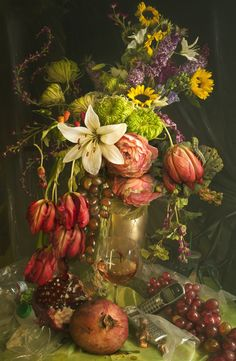 Earth laughs in Flowers by David LaChapelle