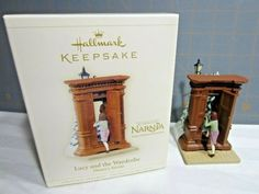 Hallmark Ornament Narnia Wardrobe Lucy on Mercari Hallmark Christmas, Hallmark Ornaments, Narnia Wardrobe, Ballerina Ornaments, Chronicles Of Narnia, Smoking, Place Cards, Place Card Holders, Day