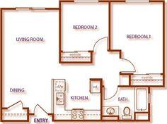Simple House Floor Plans Teeny Tiny Home Pinterest House