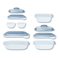 CORNINGWARER SimplyLiteR 10 Pc Bakeware Set