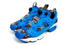 STASH × REEBOK INSTA PUMP FURY OG CYCLE BLUE/FOGGY GREY/STEEL/RIVET GREY #sneaker