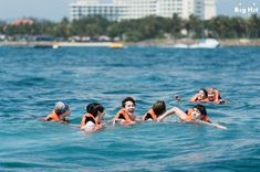 The next day, BTS had time to play ocean leisure at a Manukan Island. We are about to show the boys on the banana boat! BTS got a mission to complete before they got on the banana boat. The mission was... If they fall into water, find J-HOPE first. They promised not to let go of J-HOPE's hand, who is very afraid of water for getting on the boat together after soothing him everything will be okay. The guys friendship that even touches our mind! ☆   Finding j-hope... It was great. (Happy…