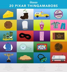 I got 20 out of 20 correct! And i got this cool poster. Name That #Pixar Thingamabob | Disney Insider
