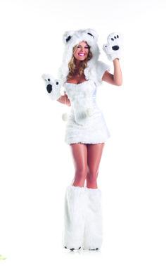 MaskStop - 8 Piece Sexy Polar Bear Costume for Women, $204.00 (http://www.maskstop.com/products/8-piece-sexy-polar-bear-costume-for-women.html)