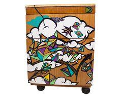 Gaveteiro pintado à mão | Interage Studio | Elo7