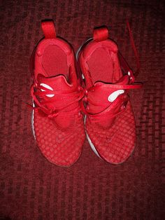 d7cb51d3286a74 Nike Force One Athletic Shoes Size 13 C Kids Youth Red  fashion  clothing