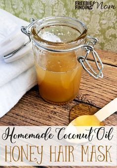 Is your hair looking dull, frizzy or just generally unhealthy? Bring back the beauty and luster with this coconut oil honey hair mask. This easy homemade hair mask recipe requires just two ingredients (three if you add the apple cider vinegar) and only a few minutes to whip up.