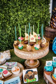 Isabella's Moana Birthday Party | CatchMyParty.com