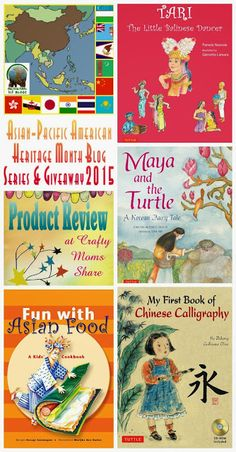 Crafty Moms Share: Asian Book Reviews -- Asian-Pacific American Heritage Month Blog Series and Giveaway