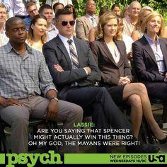 #Psych - Carlton 'Lassie' Lassiter