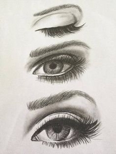 eyes, drawing