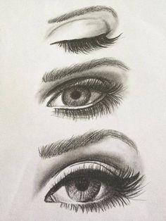 eyes, drawing