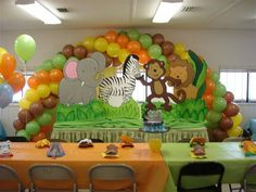 Safari Theme Baby Shower | Baby Showers