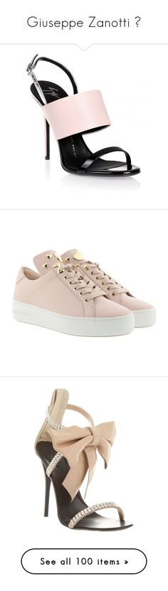"""""""Giuseppe Zanotti """" by faanciella ❤ liked on Polyvore featuring shoes, sandals, heels, zapatos, sapatos, pink, pink stilettos, stiletto heel sandals, giuseppe zanotti sandals and pink sandals #giuseppezanottiheelszapatos"""