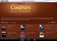iTunes University:  Will be used to connect my classroom with all my students.  Will run a paperless class that is all done on the computer.