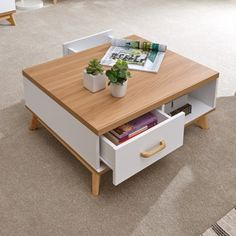 GFW's Nordica 2 Drawer Coffee Table, available in light grey and white, features four drawers. Living Room Candles, Light Table, Bed Frame, Grey And White, Memory Foam, Mattress, Drawers, Ottoman, Coffee