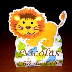 Caixa Bis Duplo - Safari - Leão