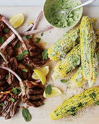 Corn on the Cob with Parsley Butter and Parmesan | Food & Wine