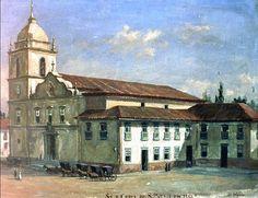 Benedito Calixto - Igreja da Sé e Cúria de São Paulo em 1863.jpg