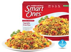 Weight Watchers® Smart Ones® Vegetable Fried Rice Weight Watchers Smart Ones, Weight Watchers Meals, Ww Recipes, Dinner Recipes, Dinner Ideas, Fried Rice Seasoning, Pineapple Fried Rice, Shrimp Fried Rice, Vegetable Fried Rice