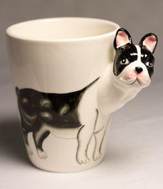 Caneca coffee Bulldog Francês