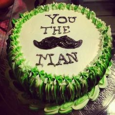 Father's Day cake Fathers Day Cake, Food Decorations, Piping Icing, Bakeries, Cute Cakes, Cake Ideas, Birthday Cake, Desserts, Bakery Shops