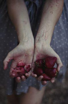 My bloody strawberries