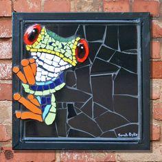 Mosaic Garden Art, Mosaic Tile Art, Mosaic Artwork, Mosaic Glass, Stained Glass Birds, Stained Glass Patterns, Mosaic Patterns, Mosaic Art Projects, Mosaic Crafts