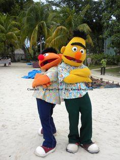 Beaches Negril  Bert and Ernie
