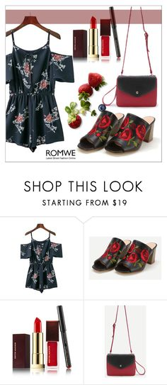 """""""Romwe 1/23"""" by goldenhour ❤ liked on Polyvore featuring Kevyn Aucoin"""