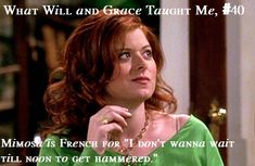 What Will and Grace Taught Me # 40. Awesome site with all that Will and Grace taught us.