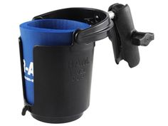The RAM Self Leveling Drink Cup holder is the perfect accessory for a long day on the water. Ram Accessories, Sup Stand Up Paddle, Thing 1, Drink Holder, Car Mount, Mounting Brackets, Black Ribbon, Hana, Drinks